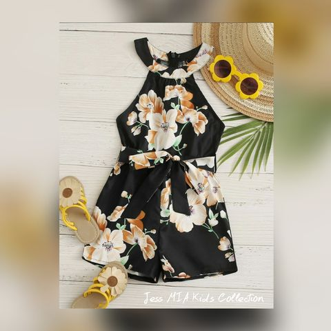 The,Floral,Romper