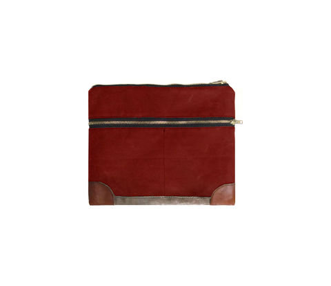 Everything,iPad,Case,,Gadget,Case,-,Sailor,Custom,Waxed,Canvas,and,Leather,in,Blood,Root,Bags_And_Purses,pouch,gadget_case,ipad,ipad_mini,case,iphone,waxed_canvas,leather,water_resistent,canvas,olive,cream,red