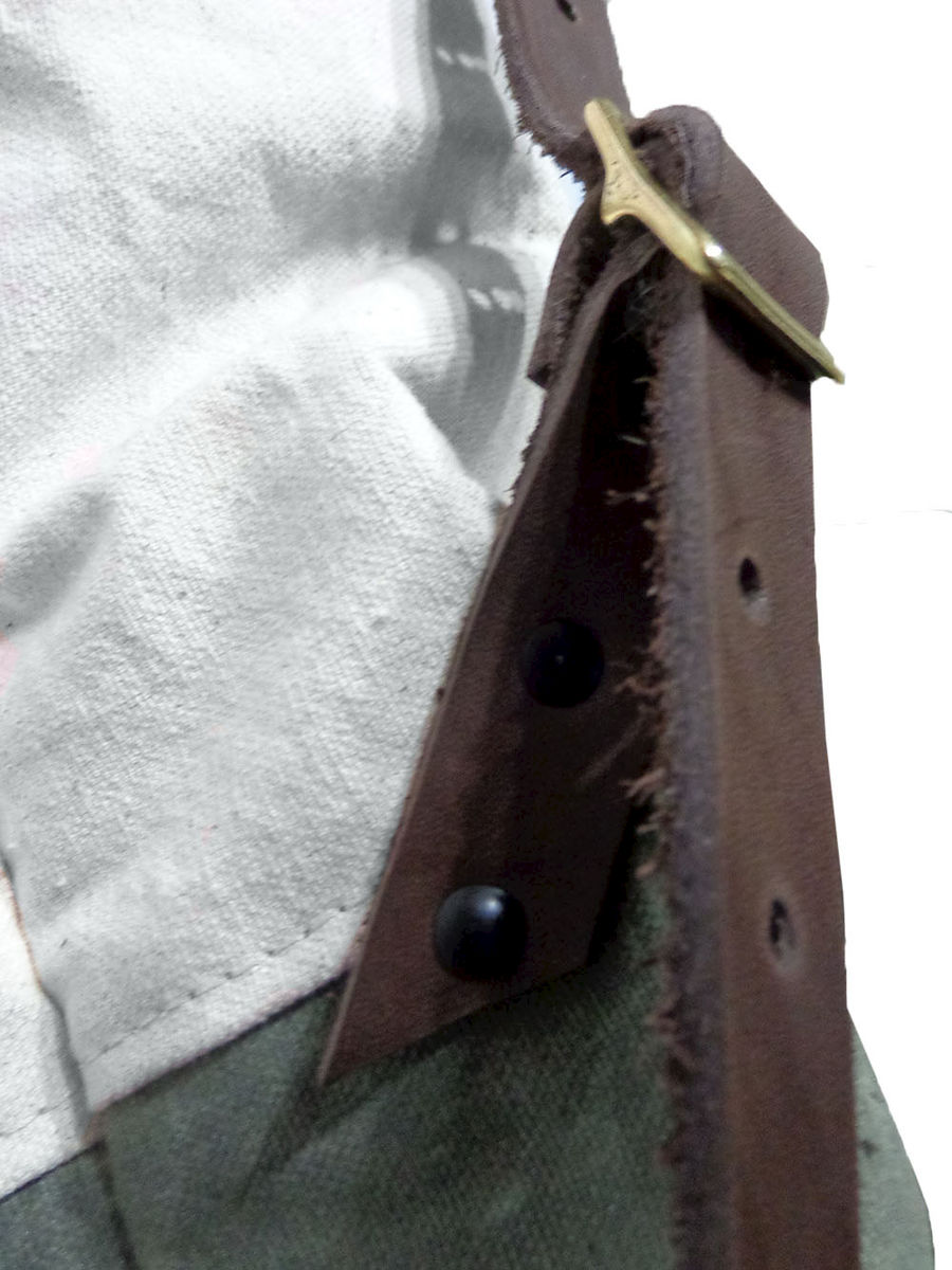 Pop Convertible Backpack Tote, Waxed Canvas - Safari - product images  of