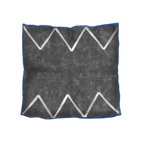 Zig,Zag,Throw,Pillow,,Waxed,Canvas,throw, pillow, zig, zag, waxed, canvas, charcoal, gray, natural
