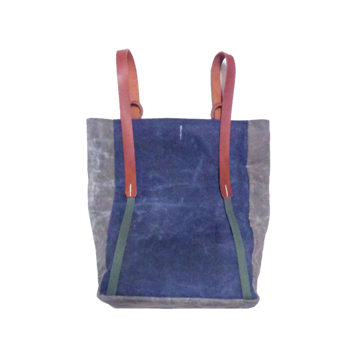 Convertible Bodega Tote, Backpack - Indigo Brickhouse - product images  of