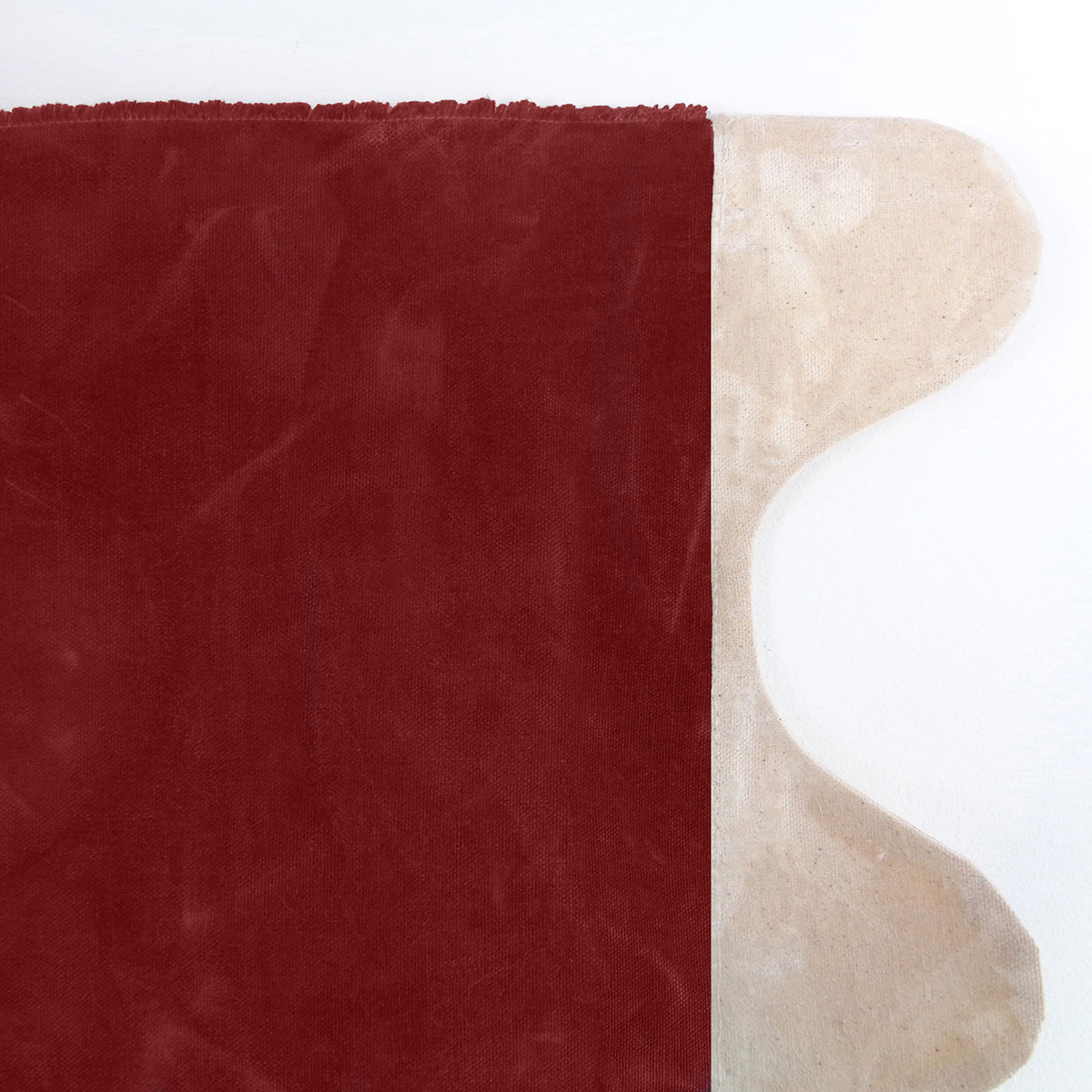 Wave Picnic and Beach Blanket, Red Waxed Canvas - product images  of
