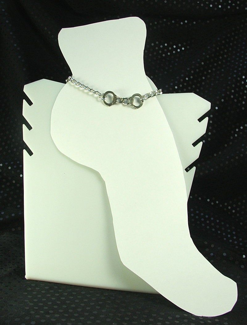 BDSM Anklet lifestyle ankle bracelet handcuff charm - product images  of