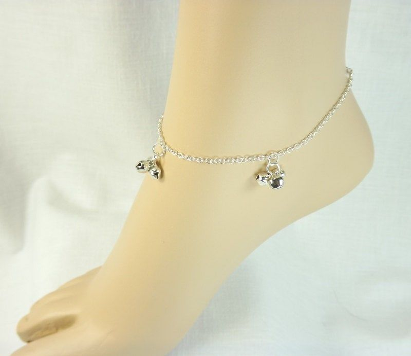 Bell Anklet slave bell ankle bracelet ringing bells fetish foot worship - product images  of