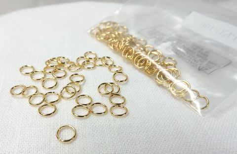 6mm,jumprings,100,pieces,20g,rings,gold,plated,brass,findings,jewelry,supply,jewelry supply findings, jumprings, jump rings, brass findings, gold plate rings, 6mm jumpring, 20g jumpring