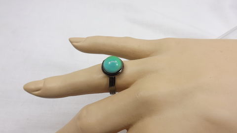 Round,mood,ring,minimalist,jewelry,color,change,adjustable,Round mood ring, minimalist mood jewelry, color change ring, adjustable ring, gift for her, boho ring, hippy ring
