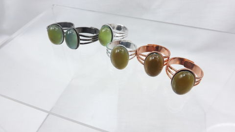 Mood,Ring,Six,Pack,Color,change,jewelry,boho,hippie,party,favors,gift,under,50,Party Favors, bulk gifts, adjustable mood ring, mood ring party pack, 6 mood rings, color change jewelry, mood stone rings