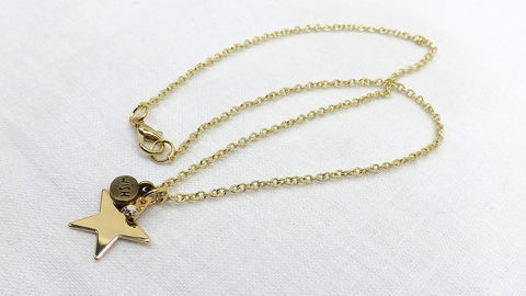 Gold,Star,Wish,Necklace,celestial,jewelry,wish,charm,necklace,pendant,gift,for,her,Gold Star Wish Necklace, celestial jewelry, wish charm necklace, Star pendant necklace, gift for her