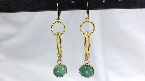 Green,Agate,Dangle,Earrings,,gemstone,jewelry,,gold,and,green,long,earrings,,gift,for,her,,under,30,Green Agate Dangle Earrings, gemstone jewelry, gold and green long earrings, gift for her, under 30