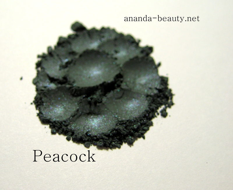 *50% clearance* PEACOCK deep blue green shimmer mineral shadow eye liner  - product images  of