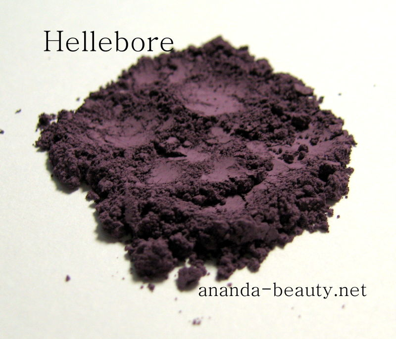 *50% clearance* HELLEBORE matte cool violet mineral eye shadow   - product images  of