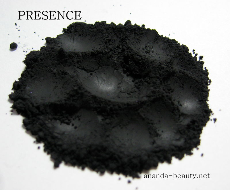 *50% clearance* PRESENCE matte black mineral shadow eye liner  - product images  of