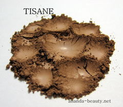 *50%,clearance*,TISANE,matte,midtone,cool,brown,mineral,eye,shadow,Bath and Beauty Makeup Eye Shadow eye shadow smoky eye makeup orange transition shade vegan eye shadow vegan makeup eye liner black eye liner blue eyes  gypsy brown eyes green eyes  biba makeup