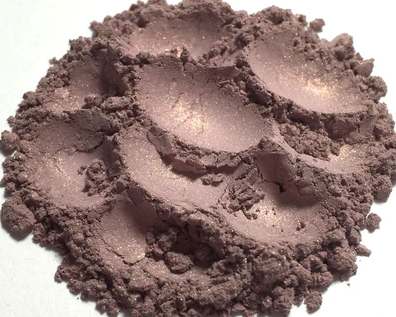 *50% clearance* PINK LOTUS cool greige pink soft shimmer vegan blush - product images  of