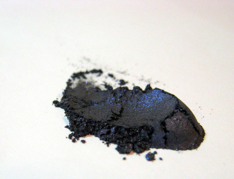 *50% clearance* BELLA DONNA blackened royal blue belladonna eye liner Mineral Eyeliner Shadow - product images  of