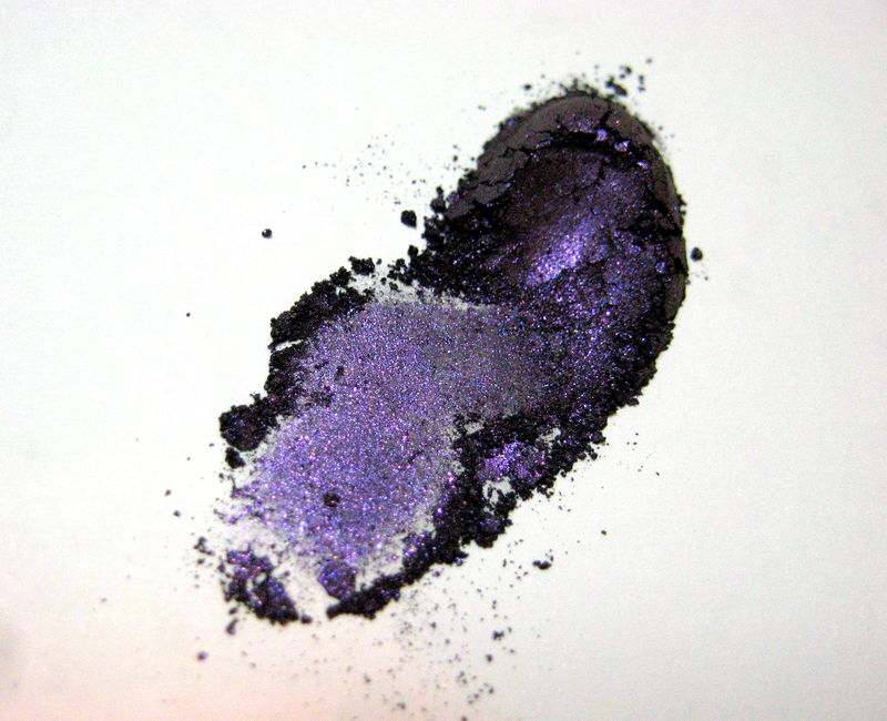 *50% clearance* RHIANNON blackened violet purple shimmer eye liner Mineral Eyeliner Shadow - product images  of