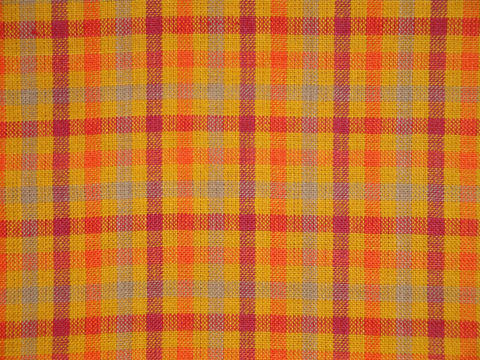 Orange,Check,Homespun,Material,Sold,By,The,Yard,Supplies,Fabric,rag_quilting,homespun_fabric,cotton_homespun,homespun_material,doll_making_cloth,coton_woven_fabric,material_by_the_yard,fabric_shop,orange_material,fall_fabric,RW0771,orange_check_fabric,orange_fabric,homespun cotton fabric