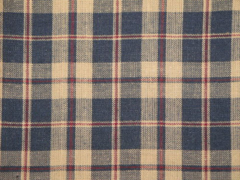 Country,Cupboard,Navy,Plaid,Cotton,Homespun,Material,1,Yard,Supplies,Fabric,navy_plaid_material,navy_plaid_fabric,plaid_homespun,homespun_material,homespun_cloth,homespun_fabric,blue_plaid_fabric,americana_fabric,cotton_material,CC317,fabric_shop,sewing_fabric,quilt_fabric,Cotton Homespun Material