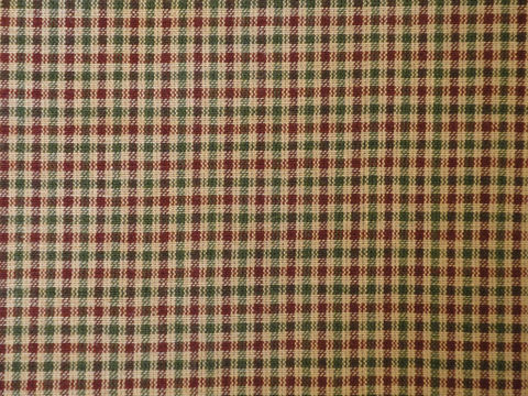 Homespun,Material,Wine,And,Green,Small,Check,1,Yard,Supplies,Fabric,check_homespun,cotton_homespun,quilting_fabric,cotton_fabric,cotton_material,cotton_cloth,check_fabric,CC320,red_and_green_check,christmas_fabric,holiday_fabric,rag_quilting_fabric,sewing_fabric,homespun cotton material