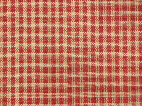Red,And,Tan,Small,Check,Cotton,Homespun,Fabric,Sold,By,The,Yard,Supplies,check_homespun,cotton_homespun,red_check_fabric,red_check_material,red_check_cloth,woven_homespun,homespun_fabric,homespun_material,small_check_fabric,homespun_cloth,fabric_shop,designer_fabric,104A,Cotton Homespun Material,Cotton Homespun