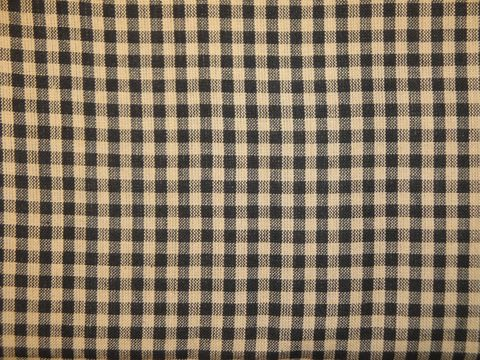 Homespun,Material,Black,Medium,Check,Cotton,Fabric,Sold,By,The,Yard,Supplies,black_and_tan_check,check_homespun,cotton_homespun,fabric_by_the_yard,black_fabric,cotton_fabric,homespun_material,homespun_fabric,homespun_cloth,RW6139,rag_quilting_fabric,quilt_fabric,black_homespun,cotton homespun fabric