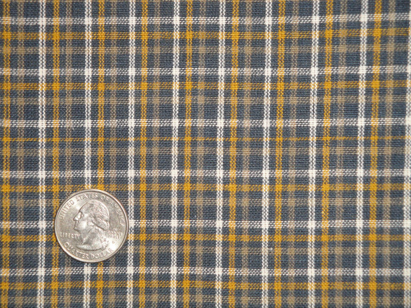 Homespun Fabric | Cotton Fabric | Home Decor Fabric | Quilt Fabric | Plaid Fabric | Apparel Fabric | Fabric Sold By The Yard - product image