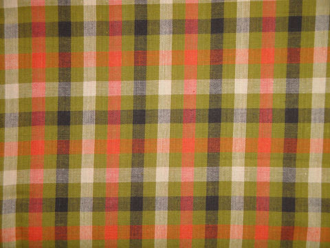Cotton,Homespun,Large,Check,Fabric,Sold,By,The,Yard,Supplies,doll_making_cloth,homespun_material,homespun_fabric,rag_quilting_fabric,home_decor_fabric,woven_cotton_fabric,cotton_homespun,primitive_fabric,fabric_shop,RW0913,fall_fabric,green_check_fabric,large_check_fabric