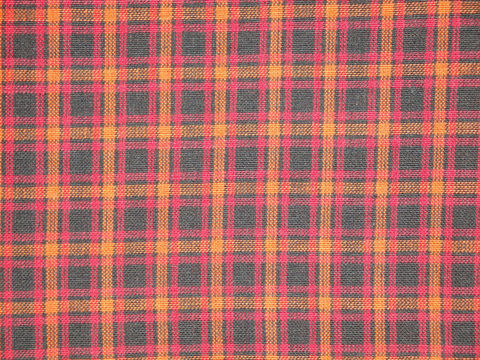 Black,Orange,Red,Plaid,Homespun,Fabric,Sold,By,The,Yard,Supplies,cotton_material,cotton_fabric,homespun_material,homespun_fabric,plaid_material,plaid_fabric,quilt_fabric,craft_fabric,fabric_yardage,primitive_fabric,home_decor_fabric,black_orange_red,apparel_fabric,Cotton