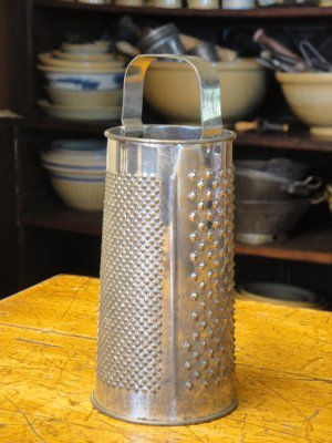 Vintage Round Grater - product image