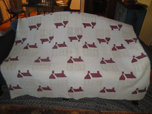 Vintage School House Quilt - product image