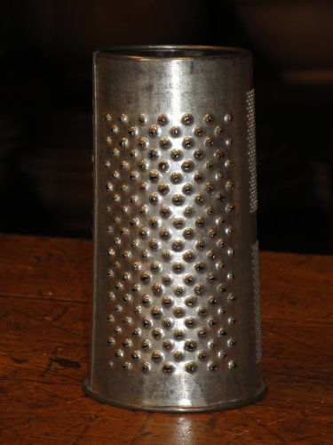 Antique Round Grater  - product image