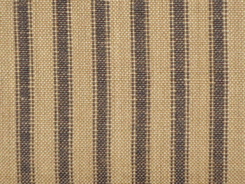 Tea,Dye,And,Black,Cotton,Homespun,Ticking,Stripe,Fabric,black ticking fabric. ticking stripe fabric, Dunroven House Homespun Fabric, primitive stripe fabric