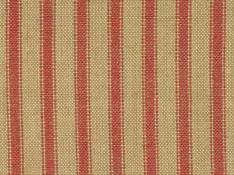 Tea,Dye,And,Red,Cotton,Homespun,Ticking,Stripe,Material,Sold,By,The,Yard,red ticking fabric. ticking stripe fabric, Dunroven House Homespun Ticking Fabric H37, primitive stripe fabric