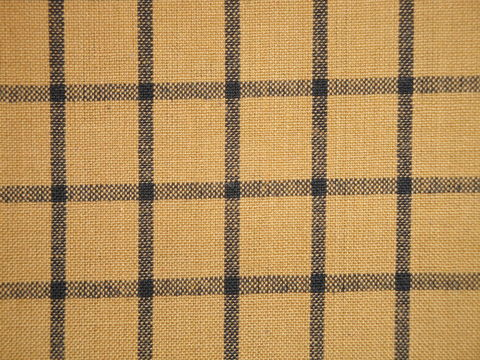 Mustard,And,Black,Cotton,Homespun,Window,Pane,Fabric,1,Yard,khaki dunroven house plaid homespun fabric