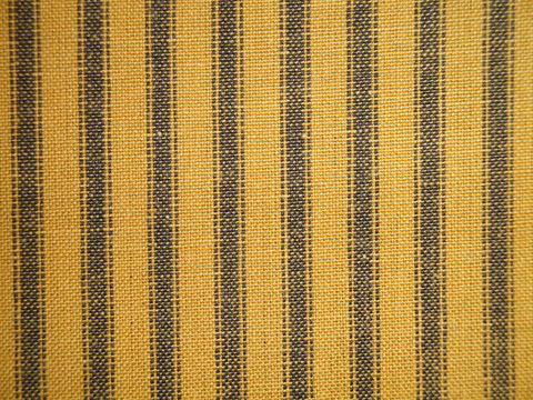 Mustard,Woven,Cotton,Homespun,Ticking,Stripe,Fabric,1,Yard,mustard ticking fabric. ticking stripe fabric, Dunroven House Homespun Fabric, primitive stripe fabric