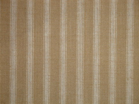 Wheat,And,Cream,Cotton,Homespun,Ticking,Stripe,Fabric,wheat ticking fabric. ticking stripe fabric, Dunroven House Homespun Fabric, primitive stripe fabric