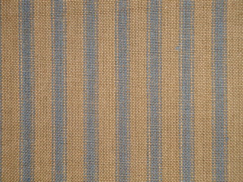 Country,Blue,And,Tea,Dye,Ticking,Stripe,Homespun,Fabric,blue ticking fabric. ticking stripe fabric, Dunroven House Homespun Fabric H16, primitive stripe fabric, blue stripe fabric