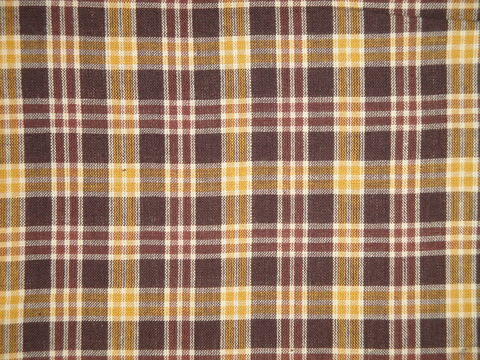 Brown,Gold,Natural,Plaid,Cotton,Homespun,Fabric,by_the_yard_fabric,sewing_fabric,quilt_fabric,cotton_fabric,farmhouse_fabric,rustic_fabric,designer_fabric,cotton homespun material, country _fabri