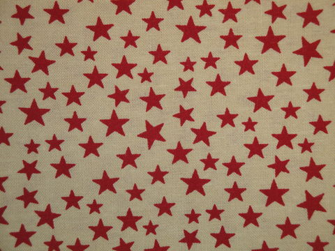Scattered,Star,Fabric,Tan,With,Red,Sold,By,The,Yard,Supplies,star_fabric,scattered_star,red_star_fabric,star_material,red_star_material,old_glory_fabric,red_fabric,cotton_fabric,sewing_fabric,craft_fabric,rag_quilt_fabric,fabric_by_the_yard,primitive_fabric