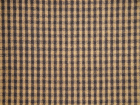 Black,And,Tea,Dye,Cotton,Homespun,Small,Check,Fabric,small check fabric, cotton small check fabric, small check fabric, black small check fabric, home decor check fabric. primitive check fabric, curtain check fabric. bedding check fabric, large check fabric