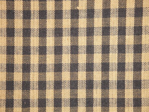 Black,And,Tea,Dye,Tan,Cotton,Homespun,Medium,Check,Fabric,small check fabric, cotton small check fabric, small check fabric, black small check fabric, home decor check fabric. primitive check fabric, curtain check fabric. bedding check fabric, large check fabric
