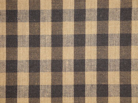 Black,And,Tea,Dye,Tan,Cotton,Homespun,Large,Check,Fabric,small check fabric, cotton small check fabric, small check fabric, black small check fabric, home decor check fabric. primitive check fabric, curtain check fabric. bedding check fabric, large check fabric