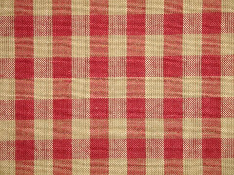 Red,And,Tea,Dye,Cotton,Homespun,Large,Check,Fabric,H32_large check fabric, cotton large check fabric, large check fabric, red large check fabric, home decor check fabric. primitive check fabric, curtain check fabric. bedding check fabric
