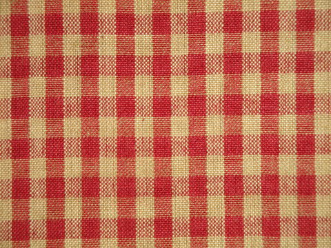 Red,And,Tea,Dye,Cotton,Homespun,Medium,Check,Fabric,small check fabric, cotton small check fabric, small check fabric, red small check fabric, home decor check fabric. primitive check fabric, curtain check fabric. bedding check fabric, large check fabric, H304,Dunroven House