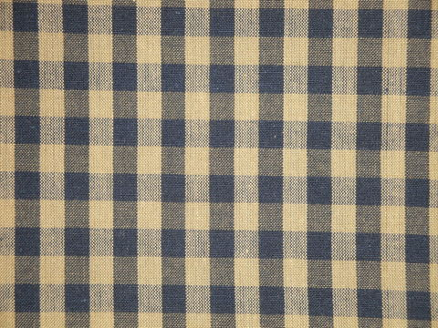 Navy,And,Tea,Dye,Cotton,Homespun,Large,Check,Fabric,blue large check fabric, cotton large check fabric, large check fabric, navy check fabric, home decor check fabric. primitive check fabric, curtain check fabric. bedding check fabric