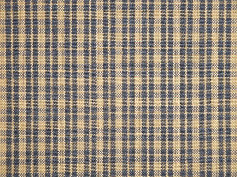 Navy,Blue,And,Tea,Dye,Cotton,Plaid,Homespun,Fabric,plaid fabric, cotton plaid fabric, plaid fabric, navy plaid fabric, home decor plaid fabric. primitive plaid fabric, curtain plaid fabric. bedding plaid fabric.