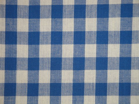 Providence,Blue,And,Cream,Woven,Cotton,Homespun,Large,Check,Fabric,large check fabric, cotton large check fabric,  large check fabric, blue large check fabric, home decor check fabric. primitive check fabric, curtain check fabric. bedding check fabric, large check fabric, dunroven house fabric