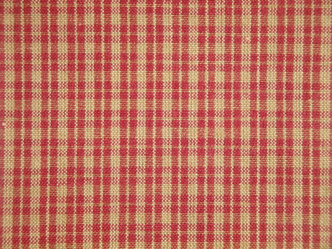 Red,And,Tea,Dye,Cotton,Plaid,Homespun,Fabric,plaid fabric, cotton plaid fabric, plaid fabric, red plaid fabric, home decor plaid fabric. primitive plaid fabric, curtain plaid fabric. bedding plaid fabric.