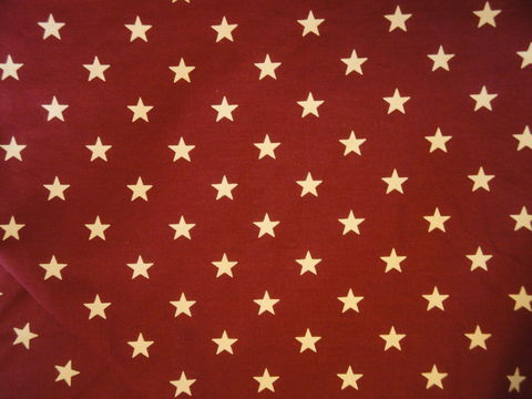 Star,Fabric,Barn,Red,With,Ecru,Stars,Sold,By,The,Yard,Supplies,fabric_yardage,cotton_material,cotton_fabric,calico_fabric,blue_star_fabric,star_fabric,cotton_cloth,blue_star_material,americana_fabric,american_flag_stars,fabric_shop,yard_goods,Quilt_Fabric,Cotton Material