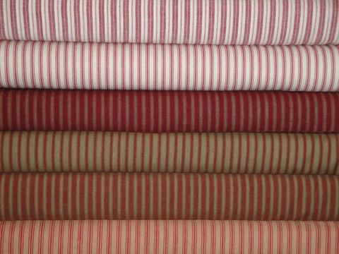 Red,Ticking,Stripe,Cotton,Fabric,Fat,Quarter,Bundle,Of,6,Supplies,fat_quarter_bundle,homespun_fat_quarter,material_fat_quarter,homespun_material,homespun_fabric,homespun_cloth,red_material,red_homespun,red_cloth,woven_cloth,fabric_shop,sewing_fabric,sewing_material,Cotton Homespun